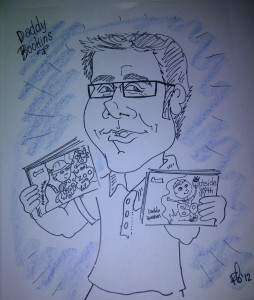 Daddy Bookins Cartoon 2012