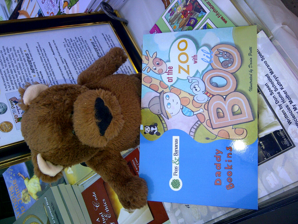 Fifo the Bear Supporting Lil Boo