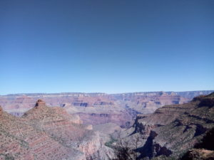 Bright Angel Trail viewpoint