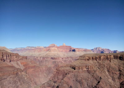 Looking east from Plateau Point