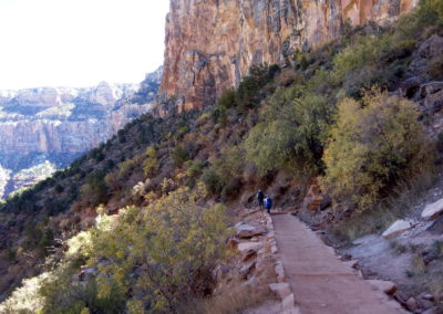 On the Bright Angel Trail