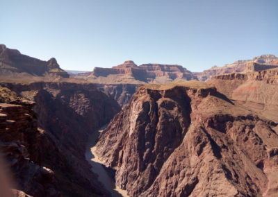 Plateau Point looking west to the Colorado River