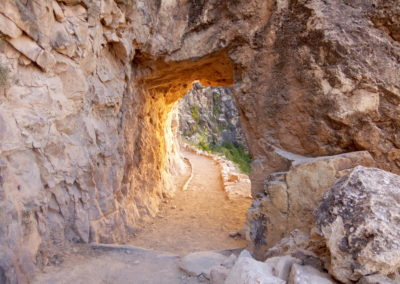 Second Tunnel on Bright Angel Trail
