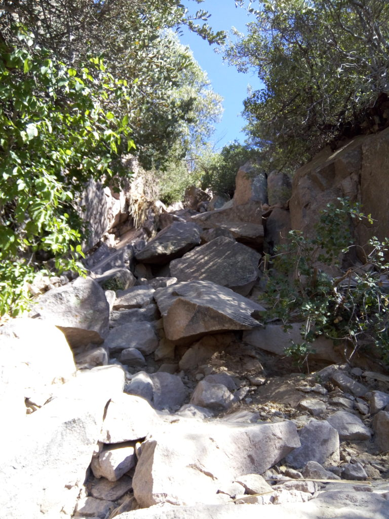 The Wall at Siphon Draw Trail