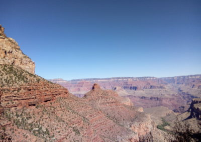 View of Battleship from Bright Angel Trail