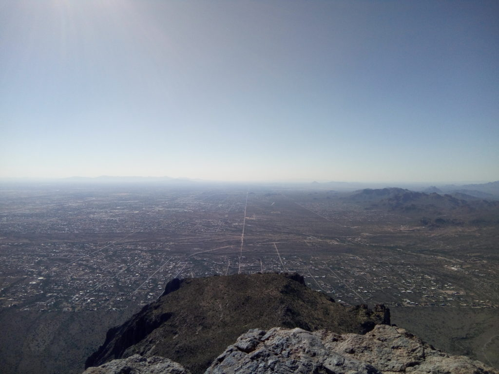 View of the Valley from Flatiron Summit