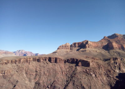 looking east into the Grand Canyon