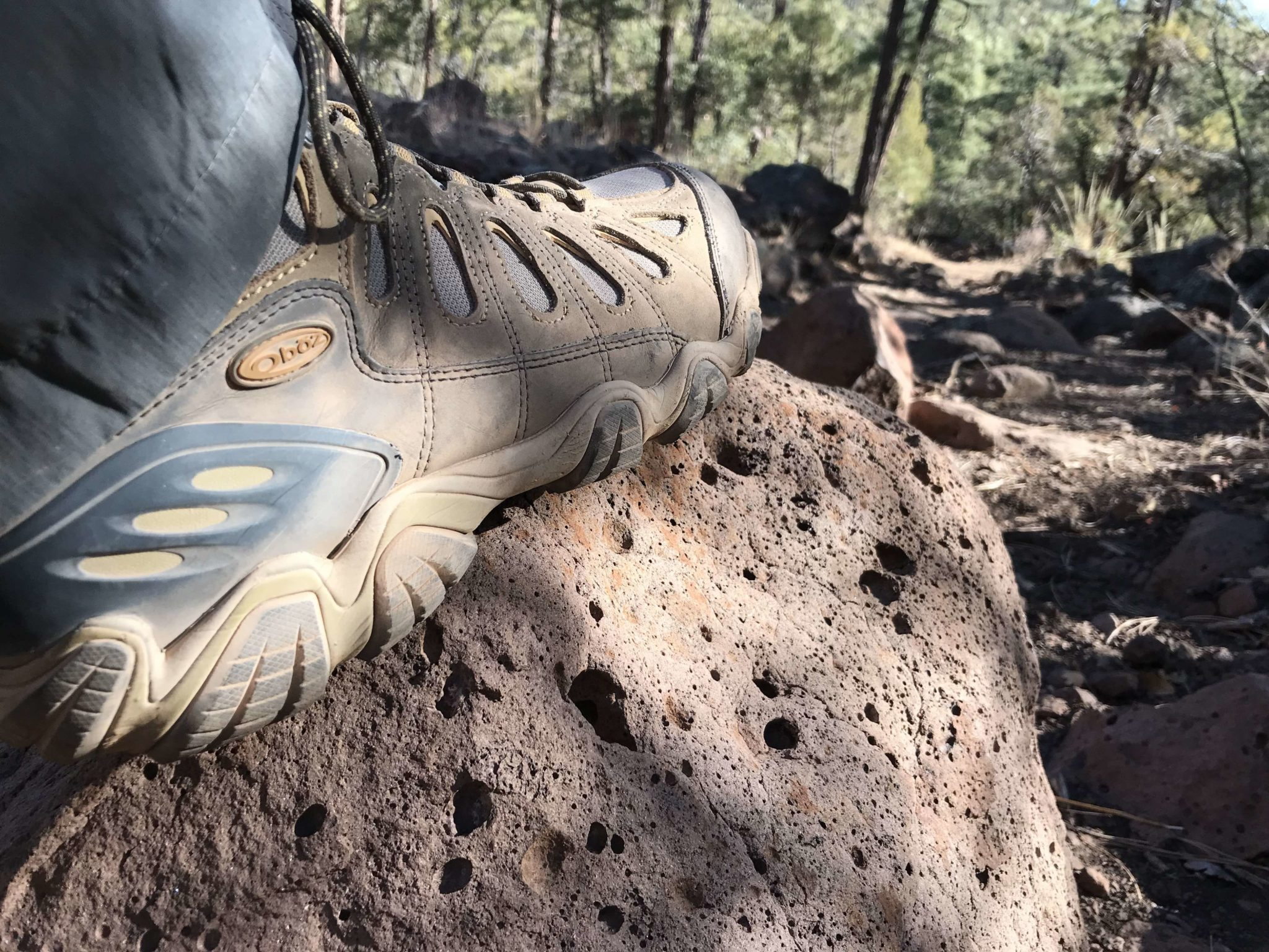 Oboz the only hiking boot