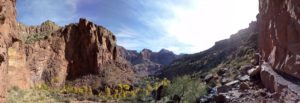 Pano View from Upper Ribbon Falls
