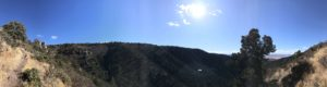 Pano of Yaeger Canyon