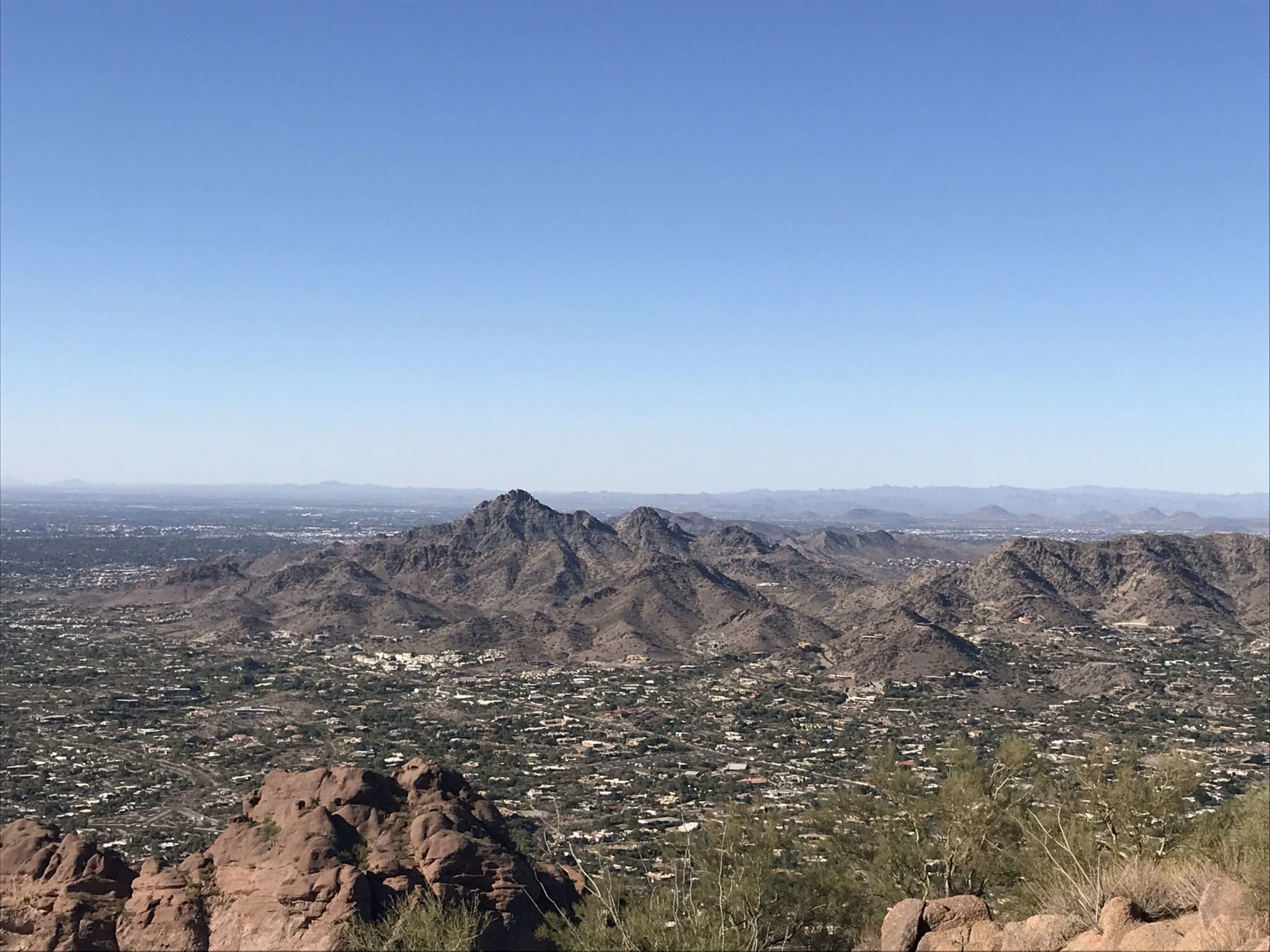 Piestewa Peak from Camelback