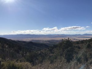 Prescott and Prescott Valley from Mingus Mountain