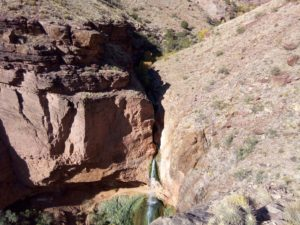 Ribbon Falls from Above