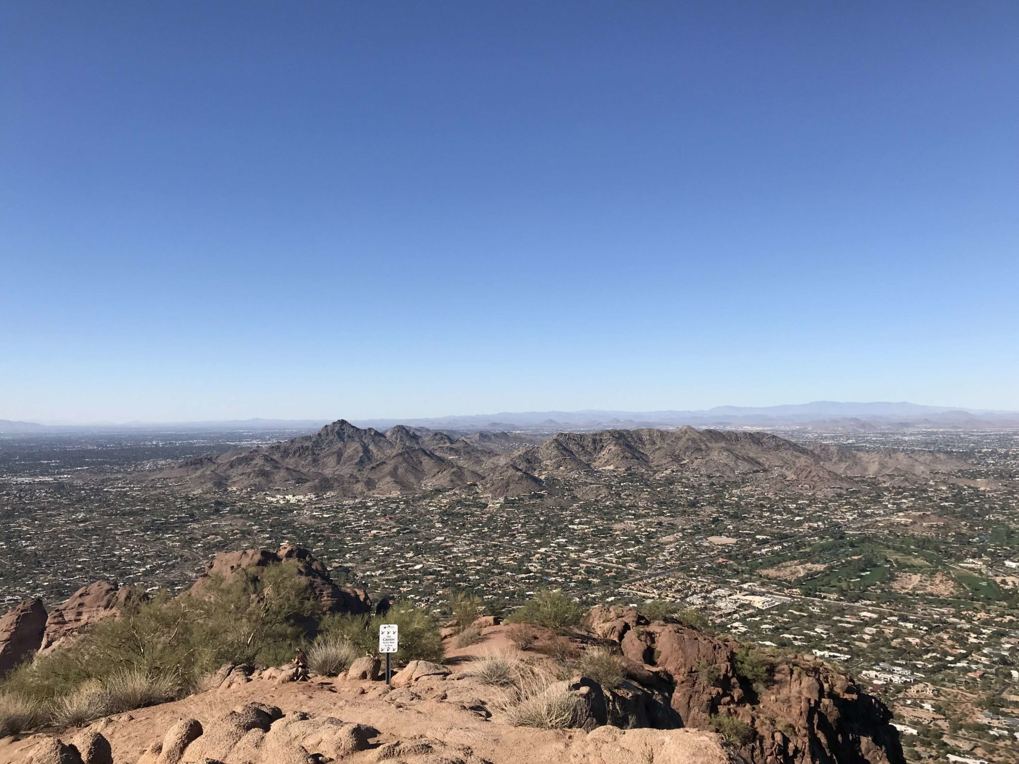 View of Piestewa from Camelback