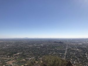 View of Tempe from Camelback