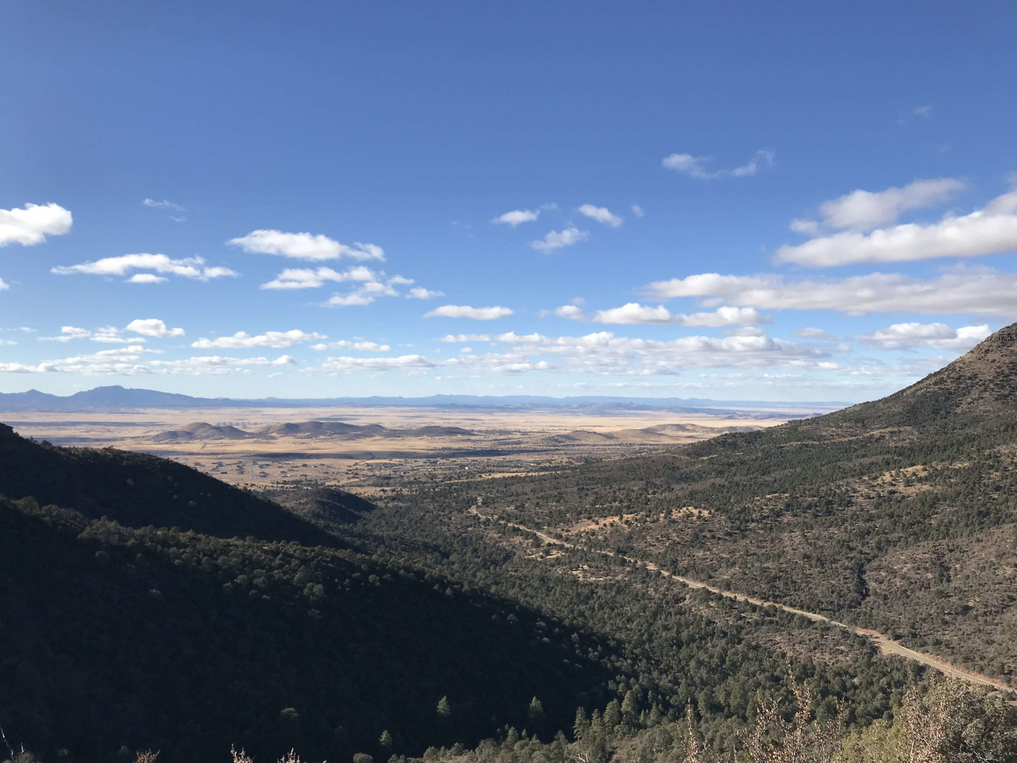 more views from Mingus Mt