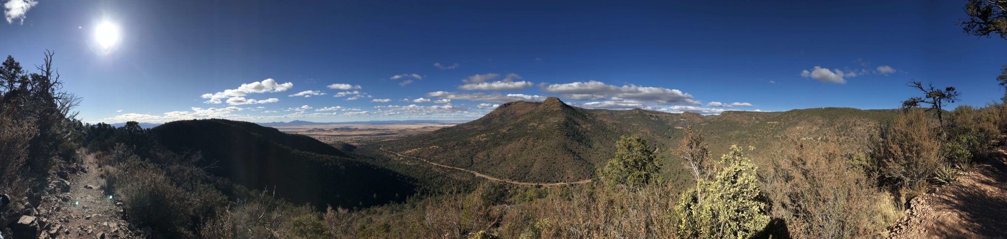 pano on the trail